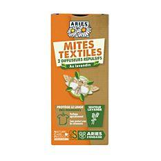 Diffuseur anti-mites pour textile x2