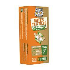 Sachets Mites Textiles x6 Bio