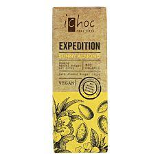 Chocolat aux Amandes ensoleillées 50g Bio