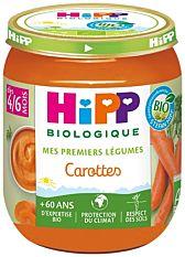 Petit pot Carottes dès 4M 125g Bio