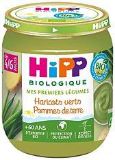 Petit pot Haricots verts Pommes de terre dès 4M 125g Bio