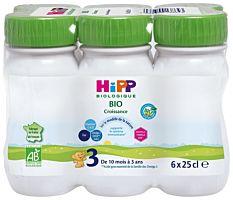 Lait Croissance Hipp 6X25Cl Bio
