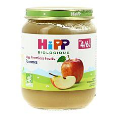 Petit pot de Pommes dès 4M 125g Bio