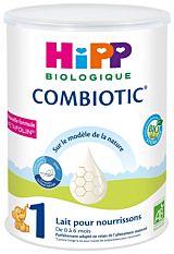 Lait 1 nourrissons 0 à 6 mois 800g Bio