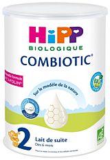 Lait 2 Combiotic dès 6M 800g Bio