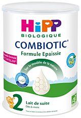 Lait de suite Combiotic 2 Formule Epaissie dès 6 mois 800g Bio