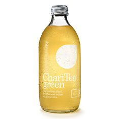 Thé glacé gingembre Charitea Green 330Ml Bio