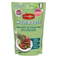 Multiboost Graines de Chanvre moulues 200g Bio