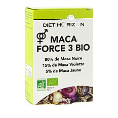 Maca force 3  - 60 gélules Bio