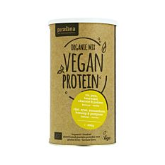 Protéine de riz, pois, tournesol, chanvre & potiron 400g Bio