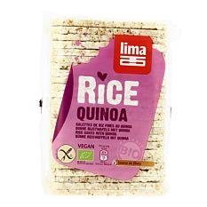 Galettes Fines Riz Quinoa 130G Bio