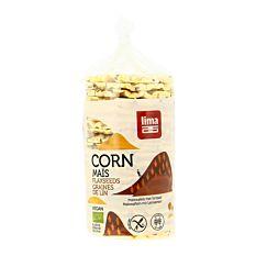 Galettes de maïs et graines de lin 130G Bio