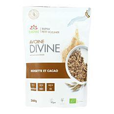 Avoine Divine Noisette et Cacao 360g Bio