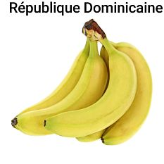 Banane - Lot de 5 fruits Bio