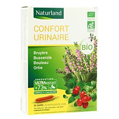 Confort urinaire 20 ampoules Bio