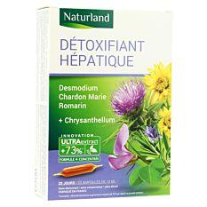Détoxifiant hépatique digestion 20x10ml Bio