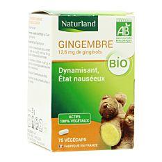 Gingembre - 75 capsules Bio