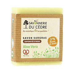 Savon naturel et artisanal Aloe Vera 100g Bio