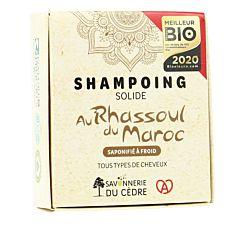 Shampoing naturel et artisanal Rhassoul 100g Bio
