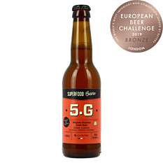 Bière 5.G Blonde 33cl Bio
