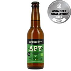 Bière APY IPA Blonde 33cl Bio