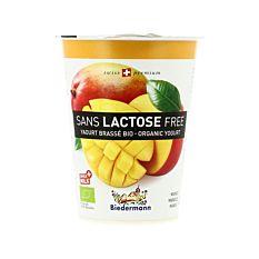 Yaourt mangue sans lactose 400G Bio