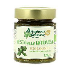 Pesto vert genovese 120g Bio
