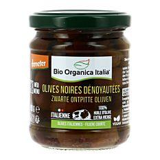 Olives Noires Dénoyautées 190g Bio