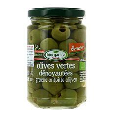 Olives Vertes dénoyautées 160g Bio