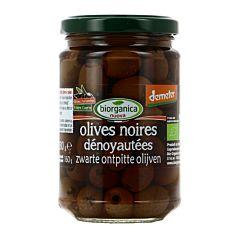 Olives Noires dénoyautées 160g Bio