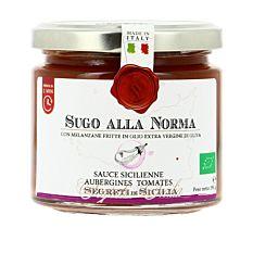 Sauce Tomate Sicilienne aux Aubergines 190g Bio