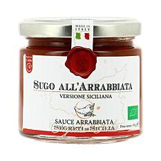 Sauce Arrabbiata Sicilienne 190g Bio