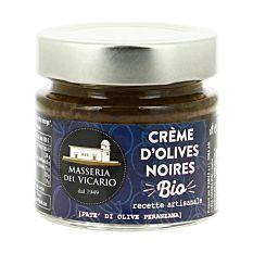 Crème d'Olives Noires 130G Bio