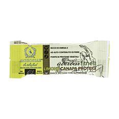Barre protéinée Chanvre & Citron 35G Bio