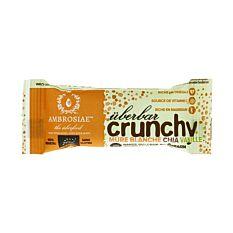 Barre crunchy mulberry, chia & vanille 35g Bio