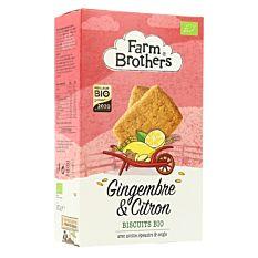 Biscuits gingembre citron 150g Bio