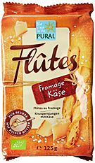 Flûtes Au Fromage 125g Bio
