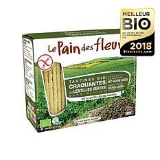 Tartines craquantes aux lentilles sans gluten 150G Bio