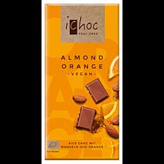 Choco amande & orange vegan 80G