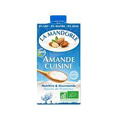 Crème d'amande pour la cuisine 25Cl Bio