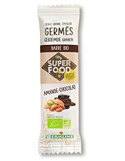 Barre de céréales germées amande chocolat 39G Bio