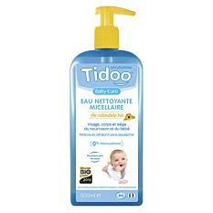 Eau nettoyante micellaire au calendula pour bébé 500Ml Bio