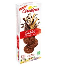 Sables Chocolat Noir 132G Bio