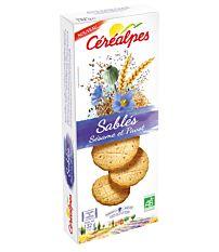 Sables Sesame Pavot 132G Bio