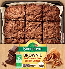 Brownie Noir Noix 285G Bio