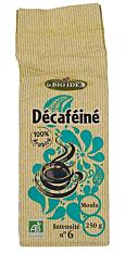 Café décaféiné moulu N°6 250G Bio