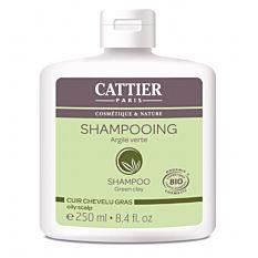 Shampoing pour cuir chevelu gras à l'argile verte 250ML Bio