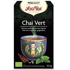 Yogi Tea Chai Vert 17Inf Bio