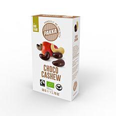 Noix de Cajou au Chocolat noir 50g Bio