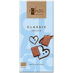 Chocolat au riz sans lait vegan 80G Bio